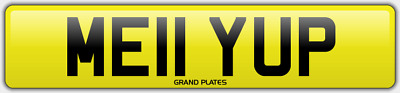 Melanie Mel Mels Mell number plate 2011 CARS ONWARD ME11 YUP REG YEH MELLY UP VW