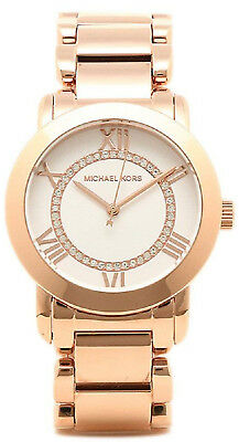 98ae6ac135e5 Michael Kors MK3530 White Dial Rose Gold Tone Stainless Steel Women s Watch