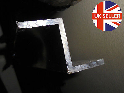 """1 meter Z channel 25x32x25 3mm thick Aluminium Z Channel 1""""x1.25""""x1"""" 1/8"""" thick"""