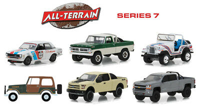 All Terrain Series 7 Set Of 6 1/64 Scale Diecast Car Model By Greenlight 35110