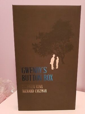 Gwendy's Button Box Stephen King & Richard Chizmar: Signed limited Edition