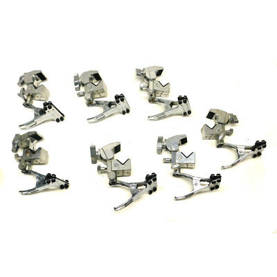 (Lot Of 7) Manfrotto #035 Silver Super Photo Clamp w/ #175 Spring Clamp