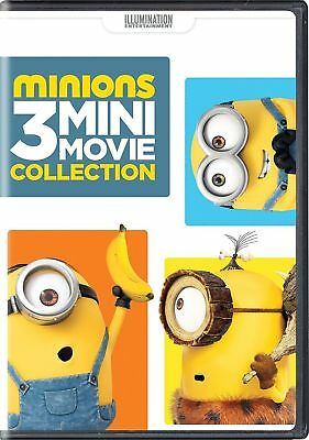 Minions: 3 Mini-Movie Collection NEW/SEALED DVD Freepost + GUARANTEED