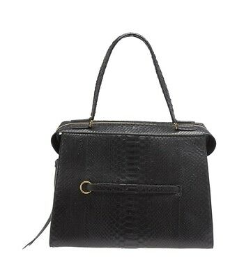 48af3cf69399 Celine Ring Black Python Shoulder Bag