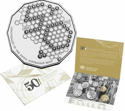 2015 Royal Australian Mint 50th Anniversary of the Mint Uncirculated Coin Set