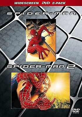 Spider-Man 1  2 (DVD, 2005, 2-Disc Set, Widescreen SE Limited Edition)