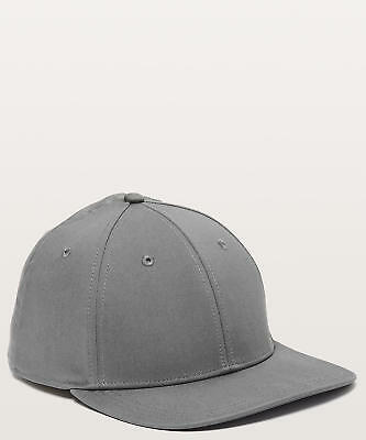 Lululemon Men's On The Fly Ball Cap Hat ANCH Anchor Grey
