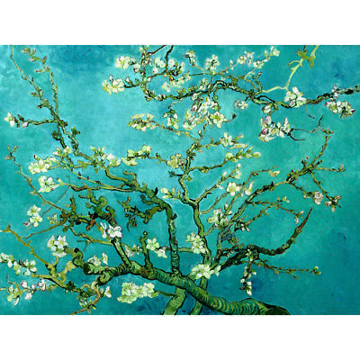 Almond Blossom Vincent Van Gogh HD Canvas Art Print Oil Painting Decor No Frame