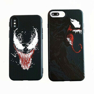 Monster Venom Marvel Silicone Phone Case Cover For iPhone X XS Max XR 6 7 8 Plus