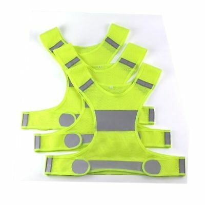 Reflective Vest Bands Harness High Visibility Running Walking Cycling Safety