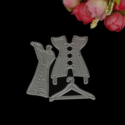 Fashion Wedding dress suit Cutting Dies For Scrapbooking Card Craft Decor LE