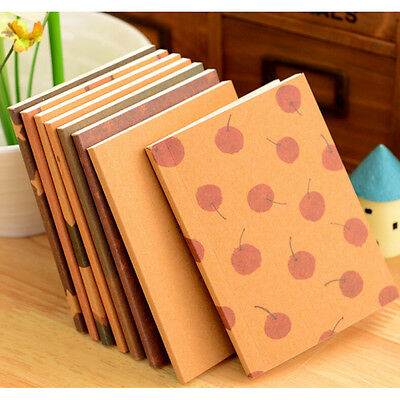 NEW Handmade Journal Memo Dream Notebook Paper Notepad Blank Diary##