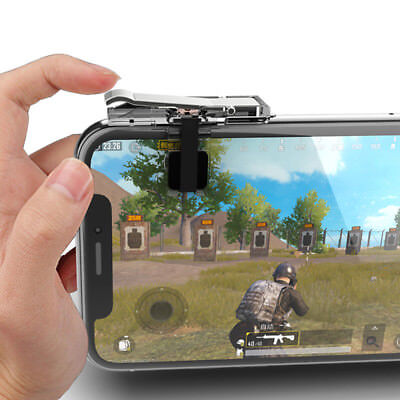 Gaming Trigger Phone Game PUBG Mobile Controller Gamepad for Android IOS iPhone%