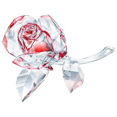 Swarovski Crystal Creation 5428561 Blossoming Rose, Red RRP $299
