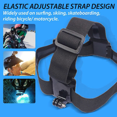 Elastic Adjustable Head Strap Mount Belt For GoPro GO PRO HD Hero 5/4/3/2 Camera