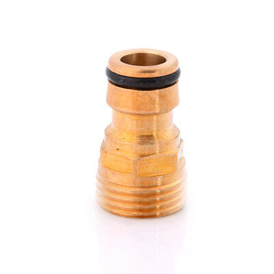 """Water Brass Hose Pipe Tube Fitting Garden Tap Quick Connector Adaptor 1/2""""%"""