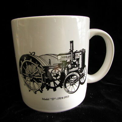 John Deere Service Coffee Mug Model D Tractor 1924-1953 Go With The Green Cup