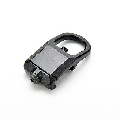 Sling Mount Plate Adaptor Attachment fits 20mm Picatinny Rail Adapter Black LE