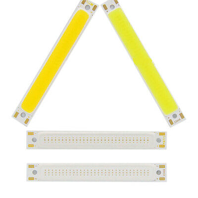 5pcs 1/3w Warm/Cool White Strip Lamp DC 3V LED Panel Light COB Chip LE