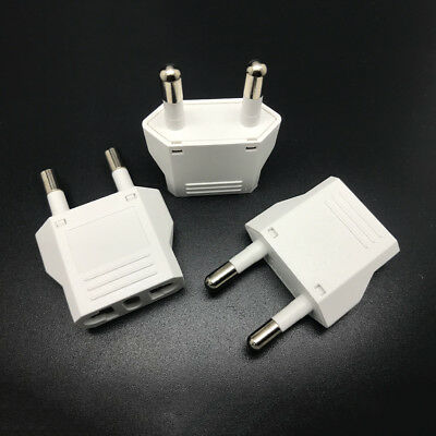 1X Travel Charger Wall AC Power Plug Adapter Converter US USA to EU Eur##