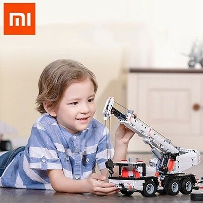 Xiaomi Mitu DIY Engineering Lifting Crane Kit Building Blocks Car Toys Bricks