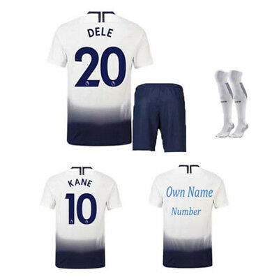 18/19 Football Kit Soccer Kid Boy Shirt Short Jersey Suit 3-14Yrs Sports Outfit