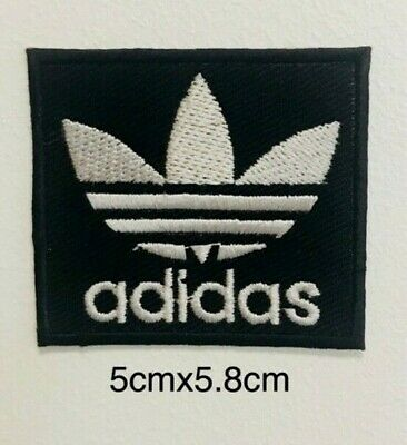 Adidas Original Logo Black iron/sew on Embroidery patch