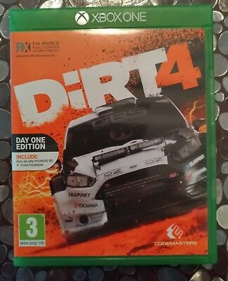DIRT 4 XBOX ONE  italiano