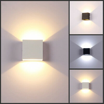 Modern 6W LED Wall Light Up Down Indoor Outdoor Sconce Spotlighting Lamp Fixture