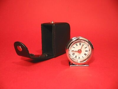 Dachshund Pewter Motif Travel Alarm Clock Mother Father Christmas Gift