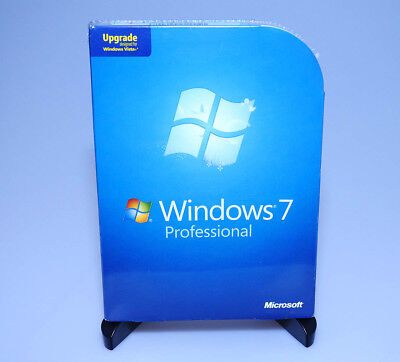 Microsoft Windows 7 Professional Pro Upgrade FQC-00130 new sealed GENUINE