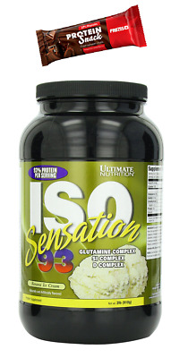 ISO SENSATION 93 900gr. Ultimate Nutrition  Proteine Siero Whey Isolate
