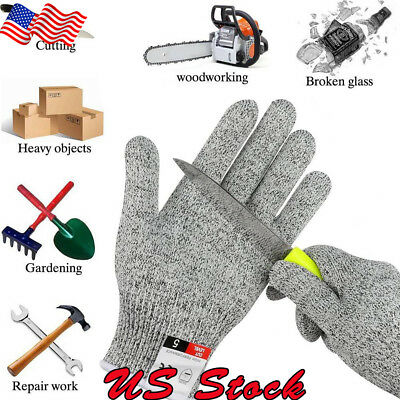 Cut Resistant Gloves Level 5 Certified Safety Meat Cut Wood Carving Protection
