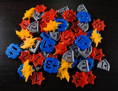 3D Printed KeyForge Tokens