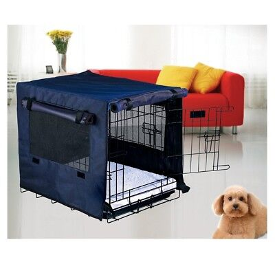 HugglePets Dog Cage Cover Puppy Pet Crate Small Medium Large XL XXL Secure Cages