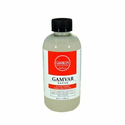 Gamblin Gamvar Picture Varnish Satin 125ml, 250ml, 500ml - Choose Size
