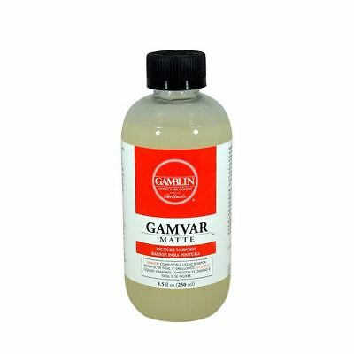 Gamblin Gamvar Picture Varnish Matte 125ml, 250ml, 500ml - Choose Size