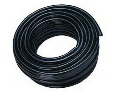 """PVC Braided Airline/Water Hose 3/16"""" I/D Black 30mtrs"""