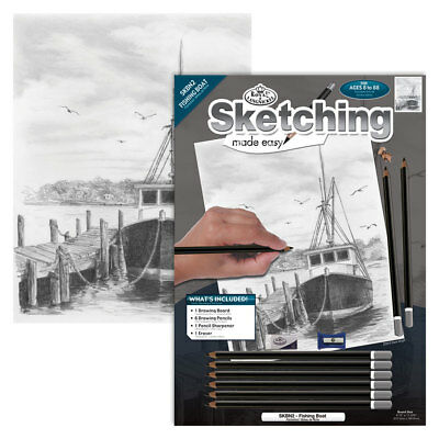 Fishing Boat - SKBN2 Royal & Langnickel / Royal brush Sketching Made Easy