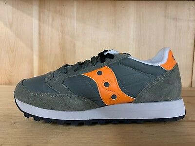 finest selection 06834 770a4 SAUCONY JAZZ ORIGINAL Orange Grey Running Mens Size 8-12 2044-300