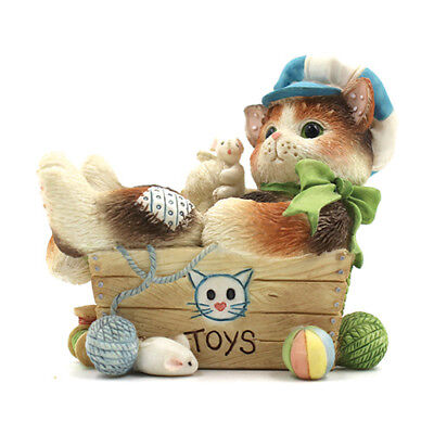 """Calico Kittens by Enesco - """"Always Paws' for Playtime"""" 254959"""