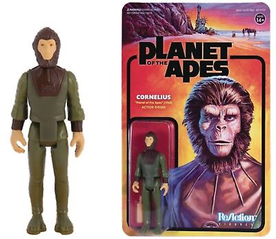 SUPER 7 PLANET OF THE APES CORNELIUS 3.75 inch REACTION FIGURE NEW