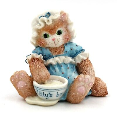 """Calico Kittens by Enesco """"An Unexpected Treat"""" #112321"""