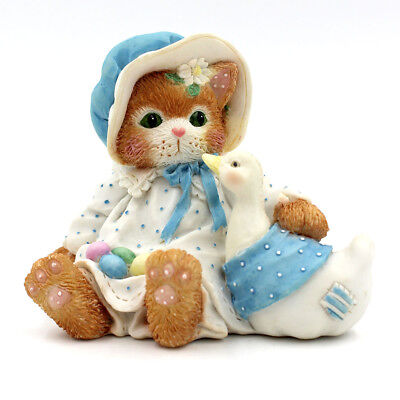 """Calico Kittens by Enesco """"Furry And Feathered Friends"""" #102636"""