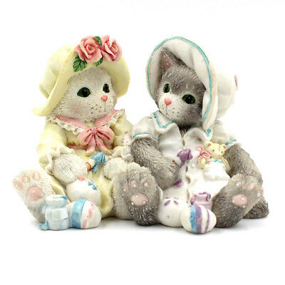 """Calico Kittens by Enesco """"You Make Life Colorful"""" #102601"""