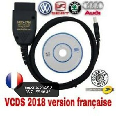 VCDS vag-com hex can 18. 9 2018 français ( assistance comprise )