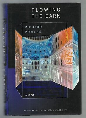 Plowing the Dark by Richard Powers (2000, Hardcover) 1st Edition 1st Printing