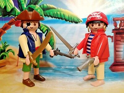 Playmobil® Piraten Figuren - Freibeuter & Seeräuber mit Waffen, TOP!!!