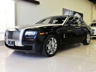 2013 Rolls-Royce Ghost  Rear Theatre Config. - Front Ventilated & Massage Seats - Silver Satin Bonnet