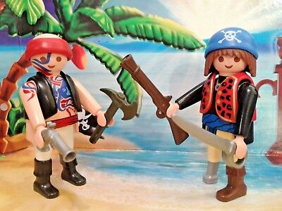 Playmobil® Piraten Figuren - Piraten mit Waffen, TOP!!!